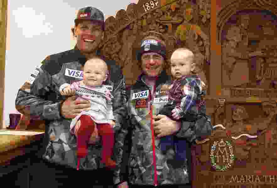 With four babies on tour, the U.S. Ski Team resembles a nursery