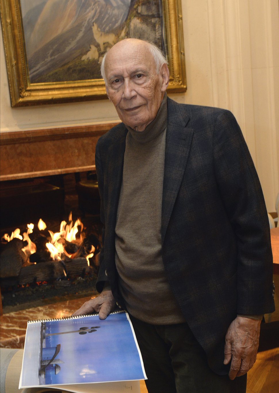 Al Hartmann | The Salt Lake Tribune Karl Momen, famed sculptor and creator of Utah's