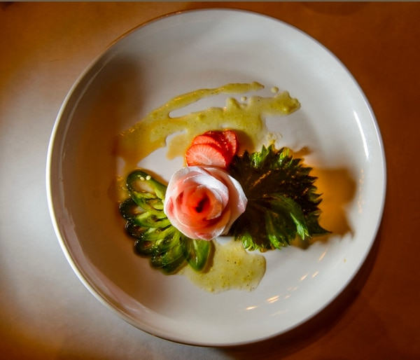 (Steve Griffin | The Salt Lake Tribune) The Jalapeno Hamachi at Soy's Sushi Bar & Grill in Murray.