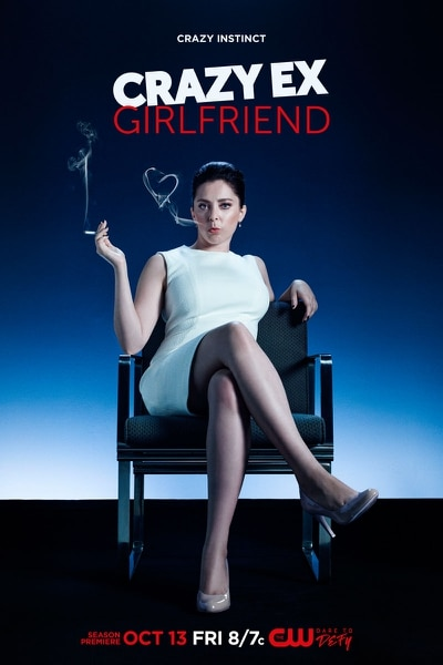 "(Courtesy of Frank Ockenfels 3/The CW) Rachel Bloom stars as Rebecca Bunch in ""Crazy Ex-Girlfriend,"" which returns for Season 3 on Friday, Oct. 13, at 7 p.m. on The CW/Ch. 30."