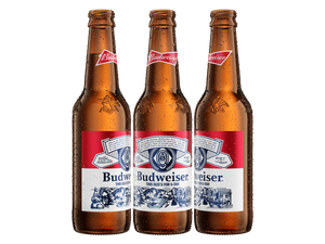 (Photo courtesy Anheuser-Busch InBev) Utah is the first state in the U.S. to have a specially designed Budweiser bottle.