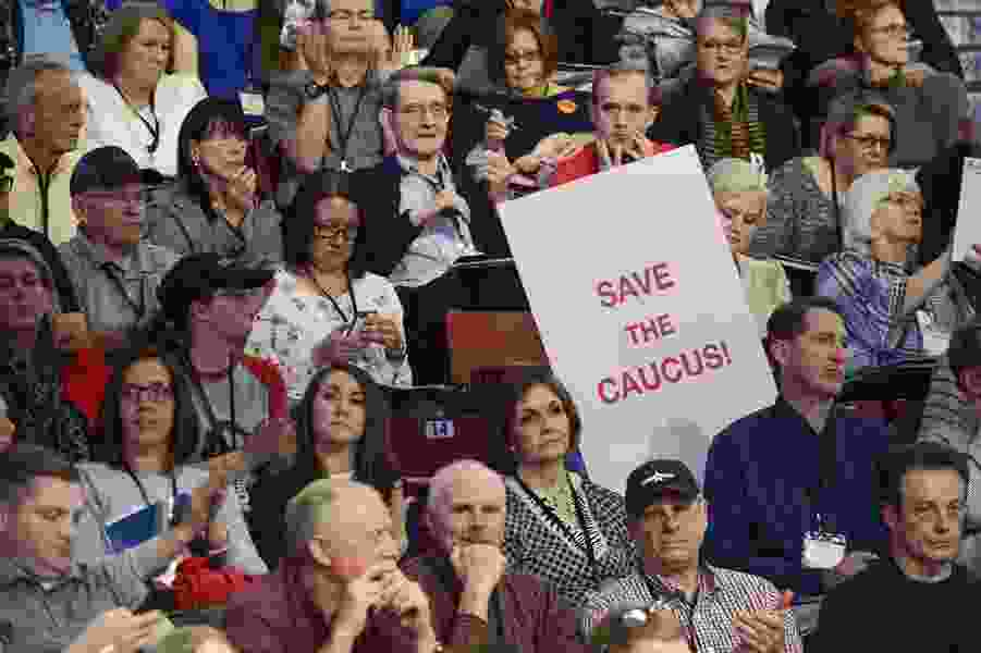Could the self-inflicted cuts and bruises by Utah's Republican Party last weekend lead to the death of GOP conventions?