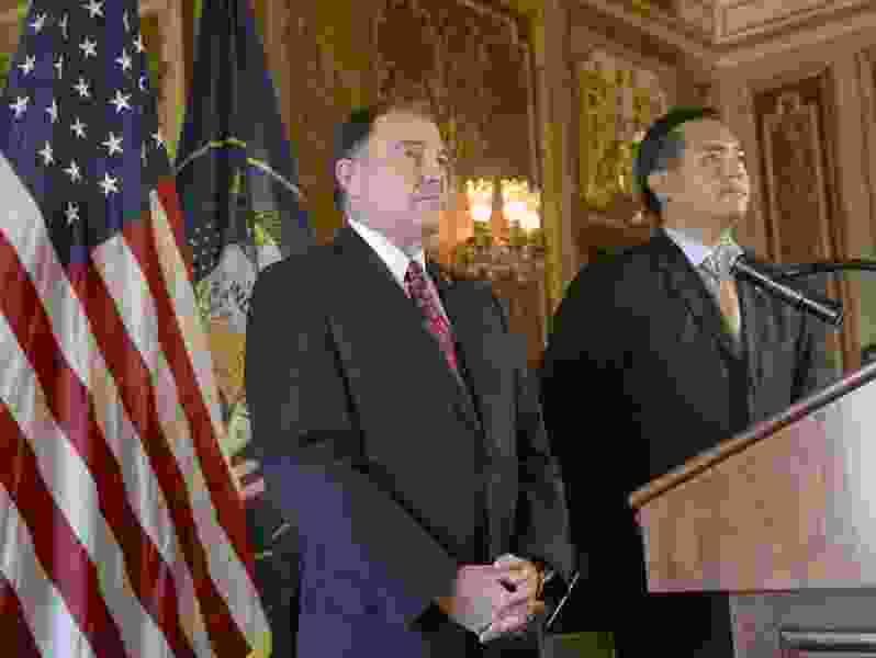 Gov. Gary Herbert vetoes bills he sees as tipping balance of power; House Speaker Greg Hughes 'would hope' Utah Legislature overrides governor