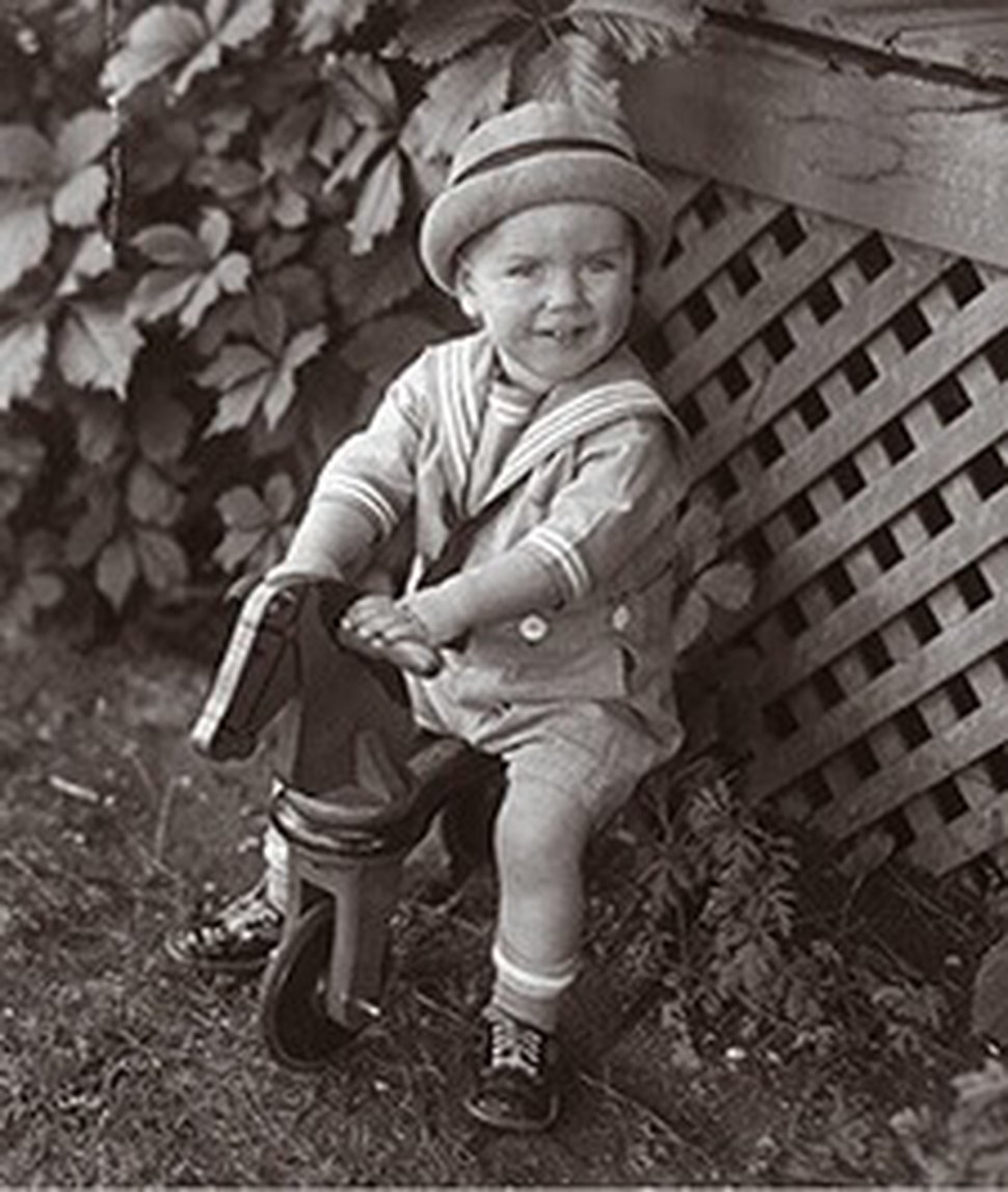 (Photo courtesy of Russell M. Nelson) Russell M. Nelson as a young boy.