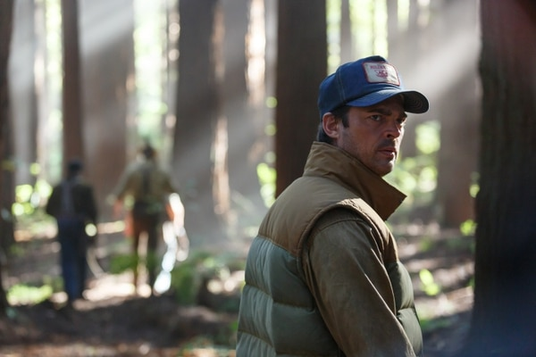 This image released by Disney shows Karl Urban in a scene from
