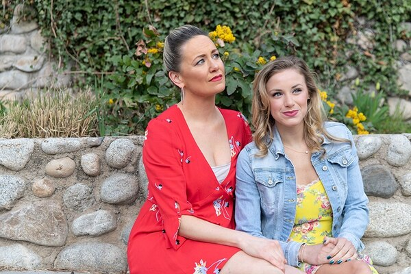 (Courtesy Pioneer Theatre Company) Coleen Sexton (Donna Sheridan) and Kathryn Brunner (Sophie Sheridan) star in the upcoming production of