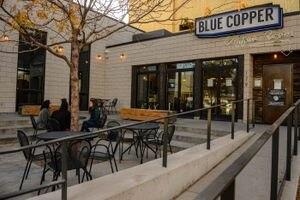 (Trent Nelson  |  The Salt Lake Tribune) Salt Lake City's Blue Copper Coffee on Thursday, Oct. 29, 2020.