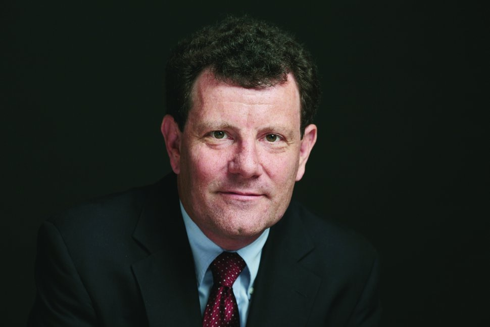 Nicholas D. Kristof | The New York Times (CREDIT: Damon Winter/The New York Times)