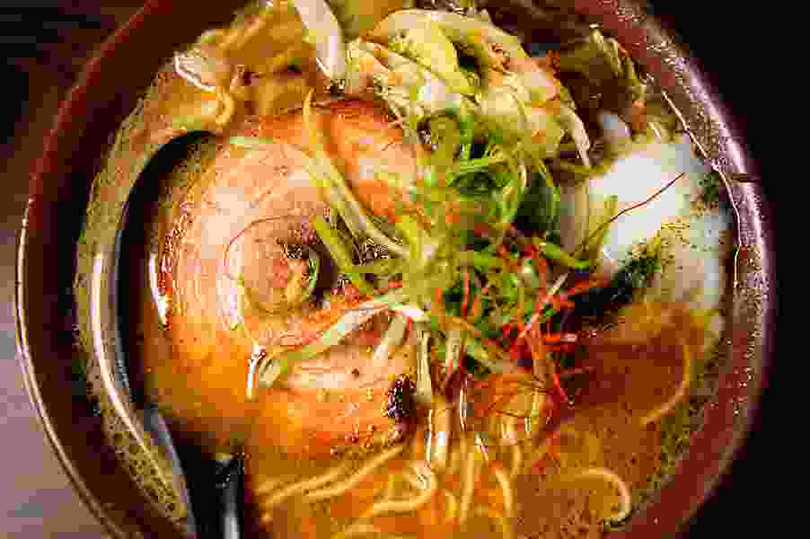 Warm up with this steaming bowl from Yoko Ramen in Salt Lake City