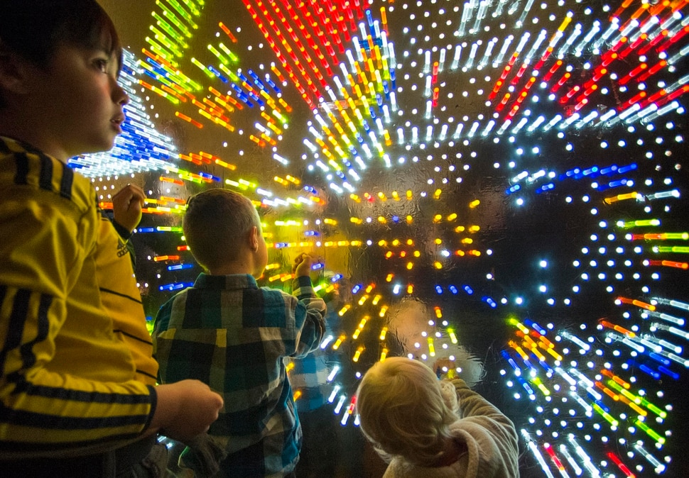 (Rick Egan | The Salt Lake Tribune file photo ) Kids play in the game room at the Last Hurrah New Year's Eve party at The Gateway, Sunday, December 31, 2017.