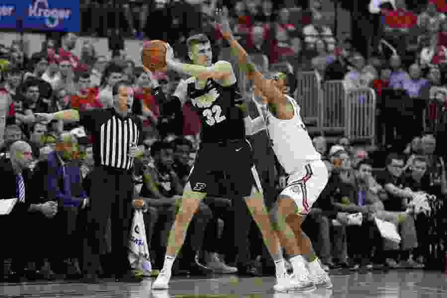 BYU lands Purdue center Matt Haarms, one of the biggest names in college basketball's transfer portal