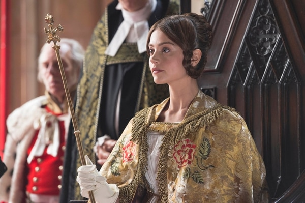 | Courtesy of ITV Plc Jenna Coleman as Queen Victoria.