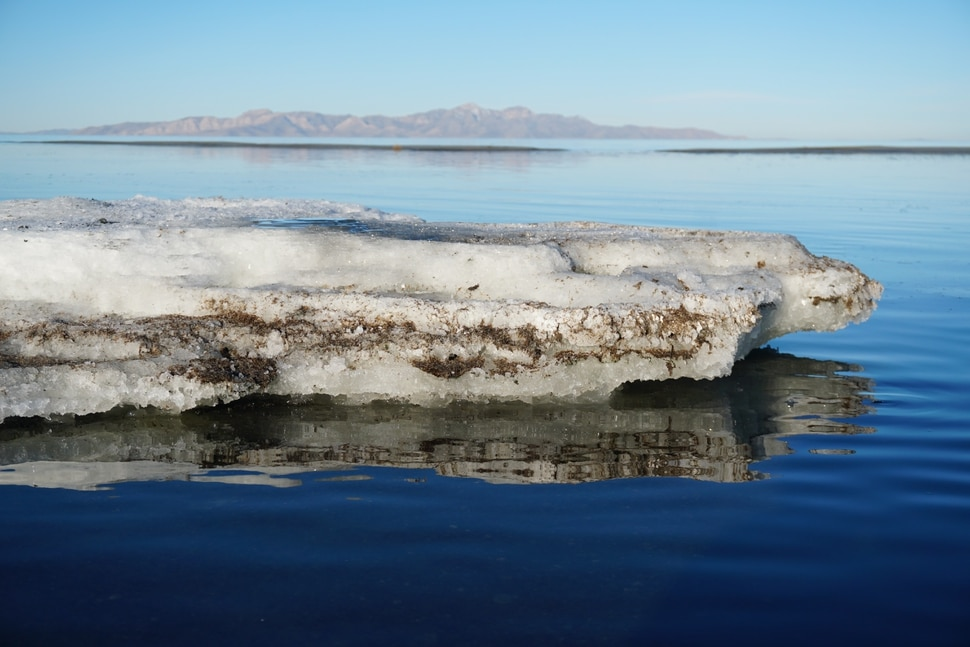 (Photo courtesy of Utah State Parks) Great Salt Lake State Park rangers spotted these rare salt formations on the south shore of the lake in October, according to Utah State Parks officials. After investigating, staff discovered that the mounds were Glauber's salt, also known as mirabilite. State officials say researchers are particularly interested in this formation because it may have similar features to conditions on Mars. The formations have been found in only a few places in the world, mostly in the Arctic.