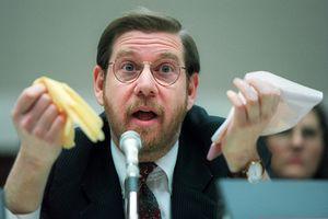 (Denis Paquin | AP file photo) Then-Food and Drug Administration (FDA) Administrator David Kessler testifying on Capitol Hill in Washington on Nov. 15, 1995. On Friday, President-elect Joe Biden named Kessler to help lead Operation Warp Speed.