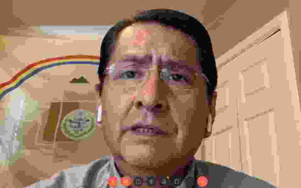Navajo Nation imposes weekend curfew as the tribe's leaders self-isolate