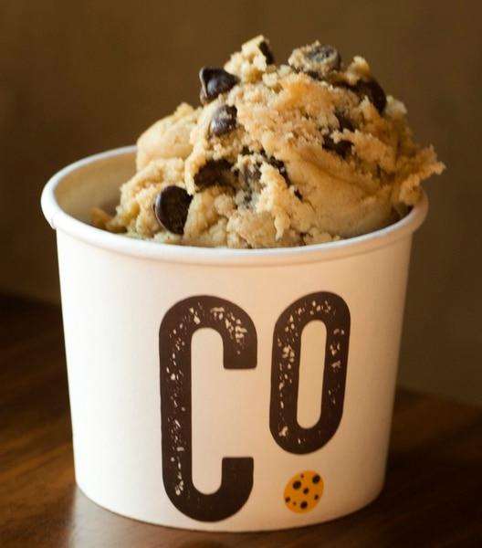 Rick Egan | The Salt Lake Tribune Chocolate Chip cookie dough at Dough Co., a new dessert shop in Sugar House. Monday, July 31, 2017.