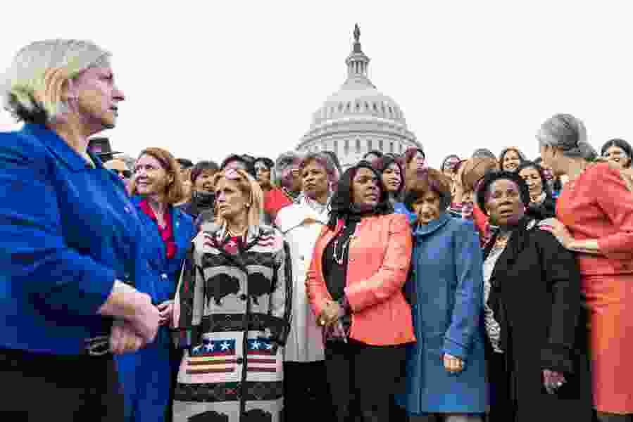 America has more female lawmakers than ever, yet it lags far behind other nations