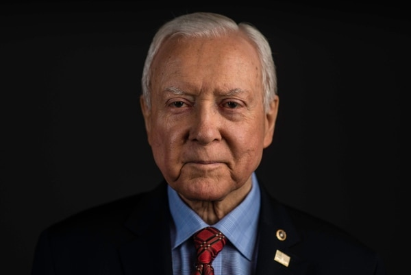 (AndrŽ Chung | special to The Salt Lake Tribune) Senator Orrin Hatch is the senior senator from Utah, Chairman of the Senate Finance Committee and President pro tempore of the United States Senate.