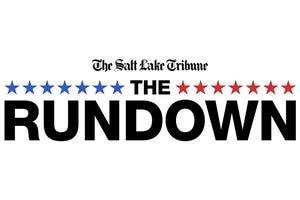 """The Rundown"" logo"