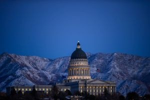 (Trent Nelson | Tribune file photo) The Utah state Capitol on Thursday, Nov. 12, 2020. By the end of 2020, the Utah Treasurer's Office received $52.1 million in lost and unclaimed property.