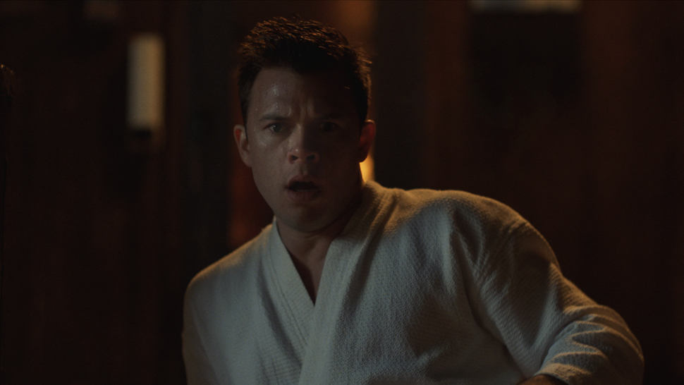 (Photo courtesy of Orion Classics) P.J. (Jimmy Tatro) is horrified when he finds his girlfriend's dismembered body, in a scene from the filmed-in-Utah horror thriller The Wolf of Snow Hollow.