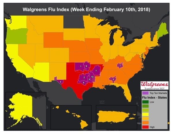 How to recognize the warning signs of flu complications