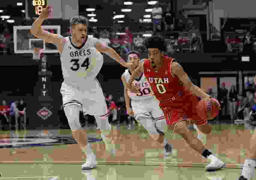 Utes' Sedrick Barefield tests NBA Draft market, works out for Los Angeles Lakers