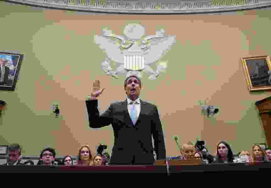 Trump blames Cohen testimony for failure of summit with North Korea