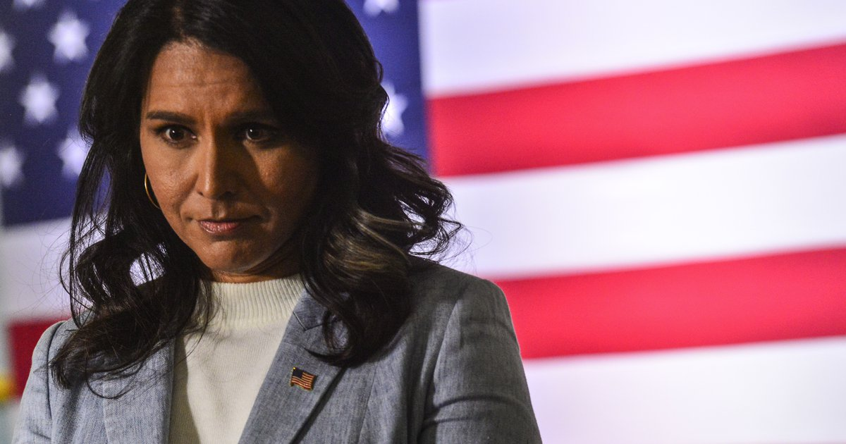 Tulsi Gabbard campaigning this weekend in Utah, the...