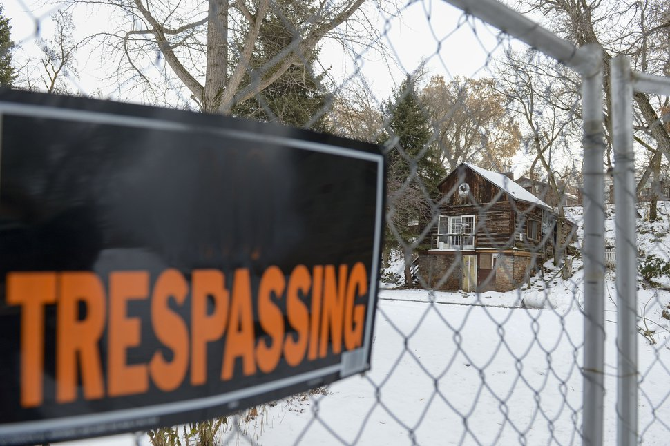 The community of Allen Park, located across the street from Westminster College off 1300 East north of Westminster Avenue is vacant and dilapidating, Jan 16, 2020 since the tenants were evicted a year ago. (Leah Hogsten/The Salt Lake Tribune via AP)