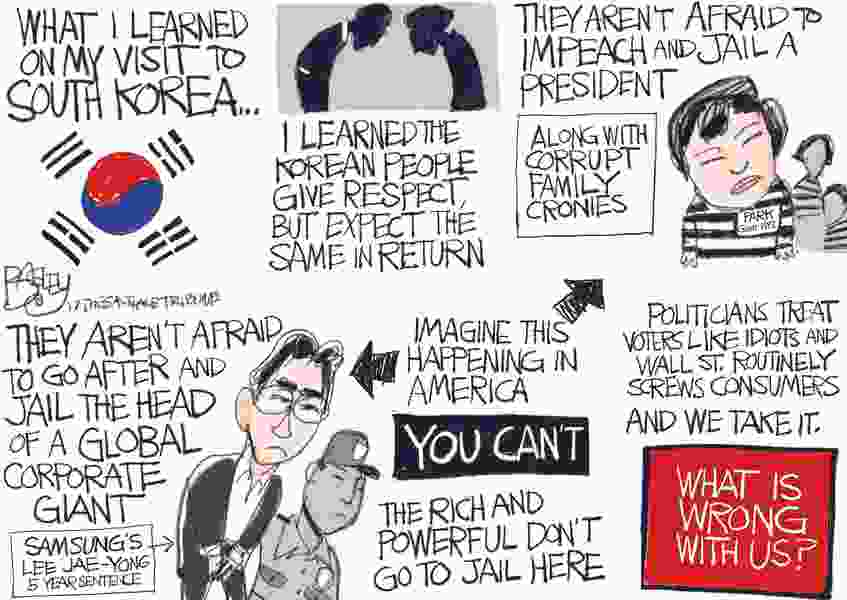 Bagley Cartoon: How to Run a Country