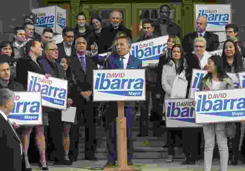 Latino businessman David Ibarra seeks to become Salt Lake City's first-ever ethnic minority mayor