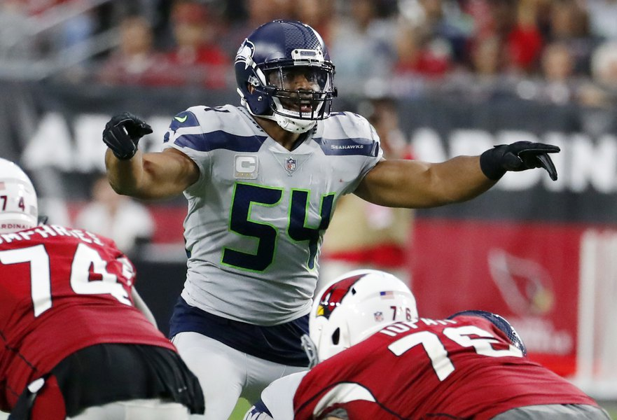 820690f0124 Former Utah State star Bobby Wagner proving to be the voice of the  surprising Seahawks