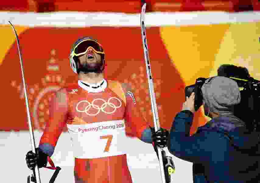 Agless wonder Svindal wins men's downhill gold medal