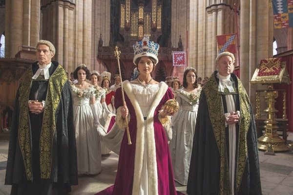 """Jenna Coleman stars as as Queen Victoria in """"Victoria."""" Credit: Courtesy of ITV Plc"""