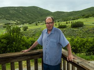 (Chris Detrick     Tribune file photo) Howard Peterson poses for a portrait at Soldier Hollow Lodge Tuesday June 10, 2014. The former U.S. Ski Association director and founder of the Soldier Hollow Legacy Foundation died Monday, May 11, 2020, in Heber City. He was 69.