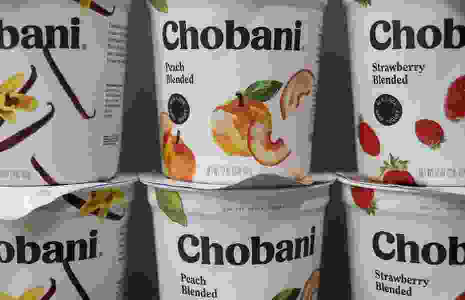 Chobani gets new look and hints at going beyond yogurt