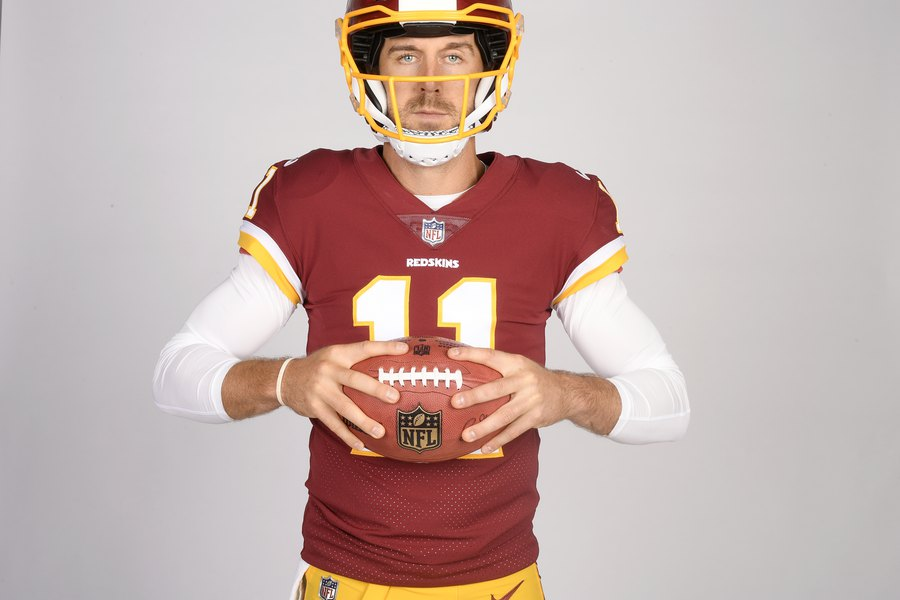 749211a2b Ex-Utah star Alex Smith puts in the work at Washington minicamp over the past  week