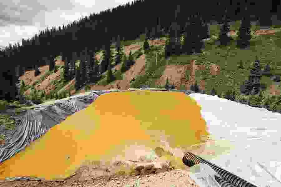 EPA waits to release comments on Colorado mine cleanup plan