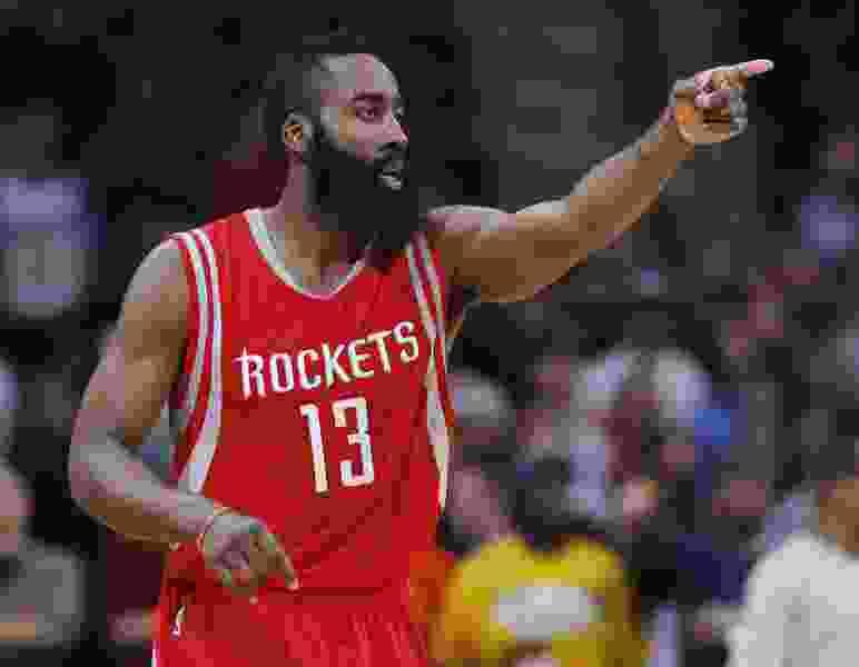 James Harden, Rockets big believers in Jazz rookie Donovan Mitchell