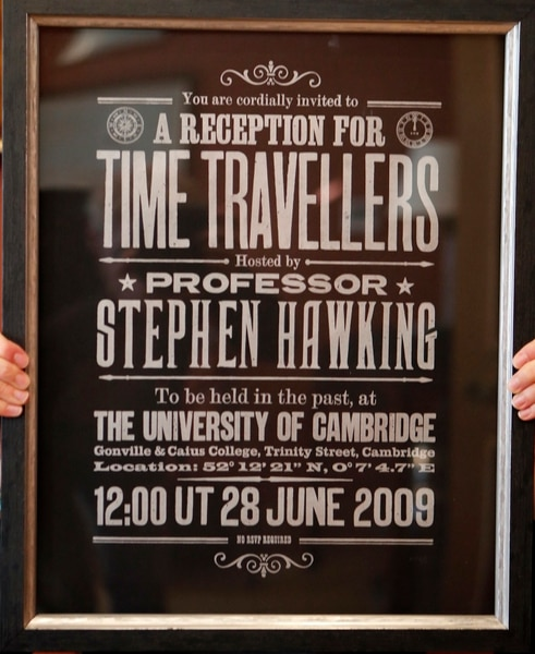 Stephen Hawking's thesis, wheelchair & other belongings to be auctioned