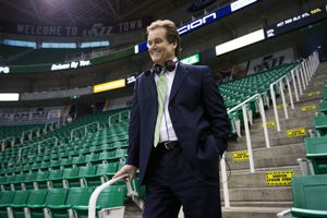 (Kim Raff | Tribune file photo)  When Craig Bolerjack succeeded Hot Rod Hundley in 2005 as the play-by-play guy for Jazz telecasts, it marked a generational shift of sorts. Not just from the folksy, hyper-kinetic Hundley to the smooth, professional Bolerjack, but from one basketball generation to another. It was sort of a changing of the guard. April 21, 2012.