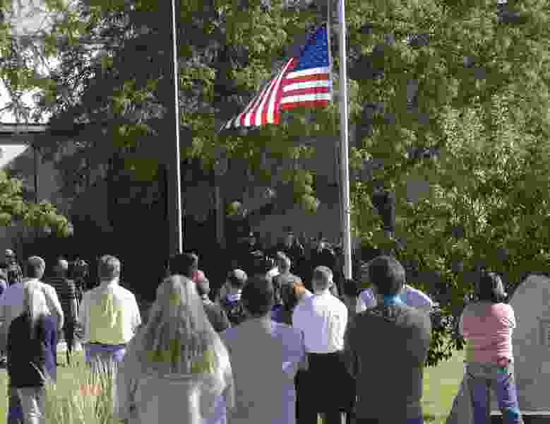 Letter: The flag should always be at half-staff