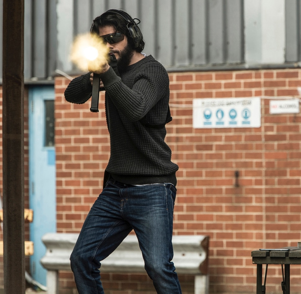 This image released by Lionsgate shows Dylan O'Brien in a scene from, American Assassin. (Christian Black/Lionsgate via AP)
