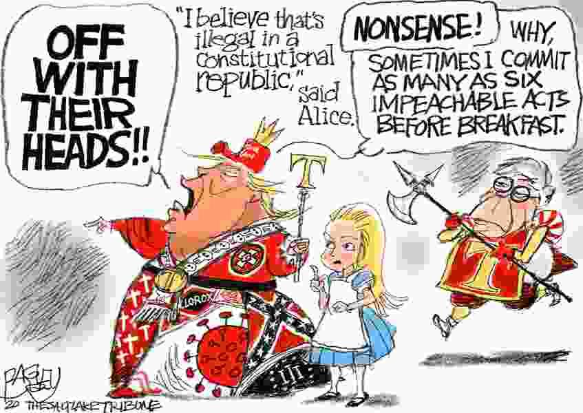 Bagley Cartoon: Red Queen