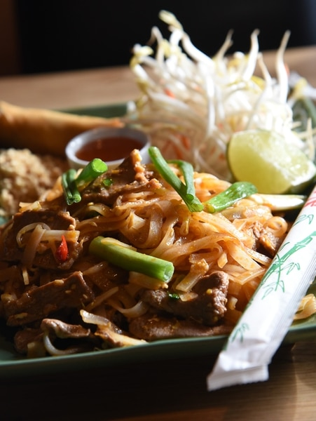 (Francisco Kjolseth | The Salt Lake Tribune) Pad Thai at Thai So Good, a new restaurant in Park City at 1764 Uinta Way, Unit D-1, at Kimball Junction is a place people can try before (or after) the Sundance Film Festival.
