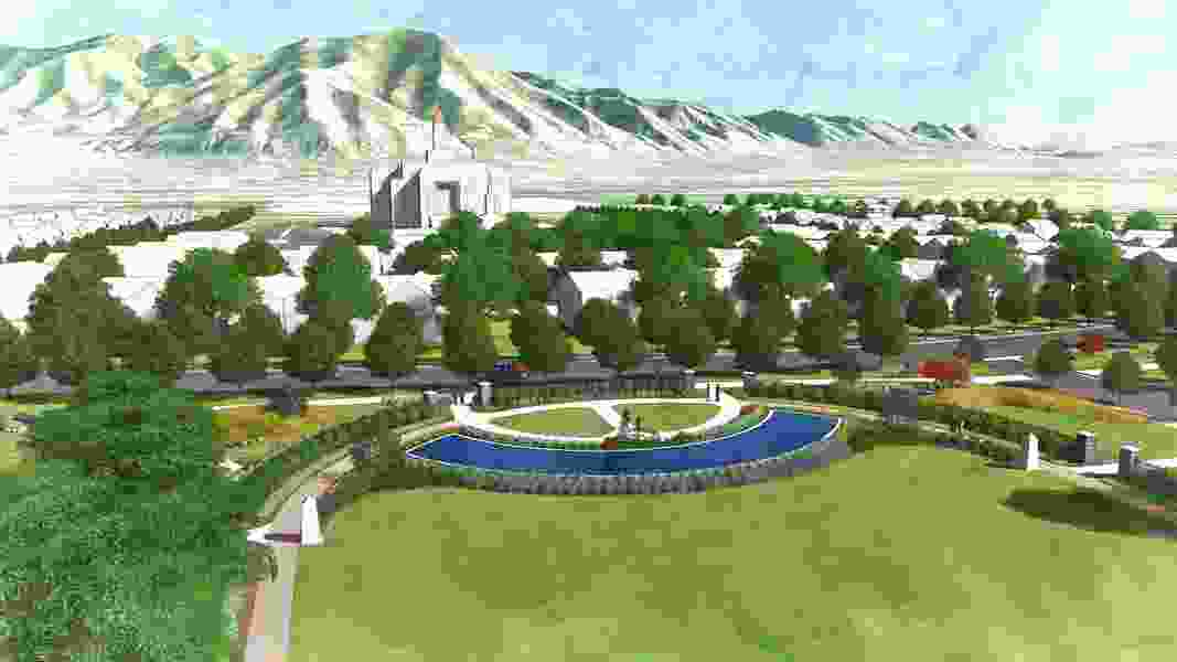 LDS Church proposes new community near future Tooele Valley Temple