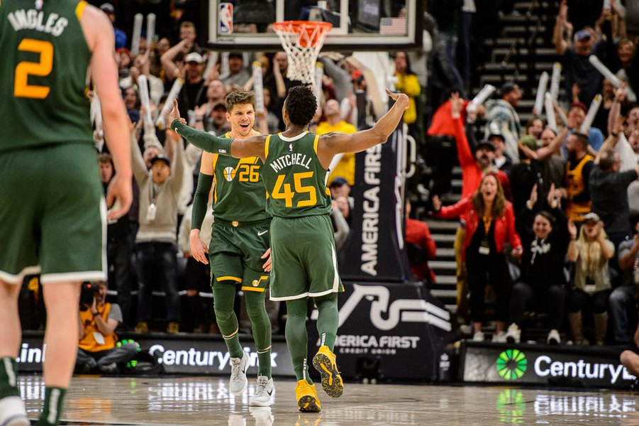d77e13114cd Jazz double down on support of Donovan Mitchell   It felt like the truth