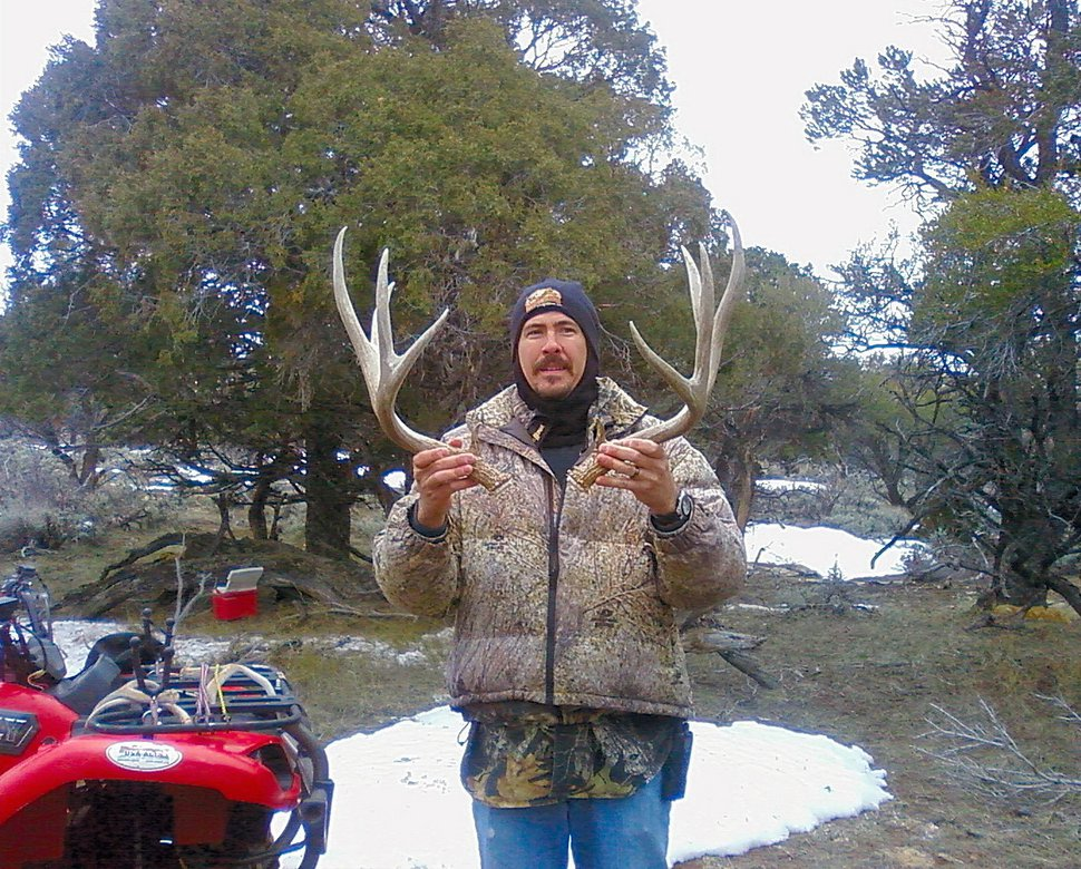(Courtesy Utah Division of Wildlife Resources) Gathering shed antlers is a fun thing to do in Utah in late winter. Before you gather shed antlers, make sure to complete the state's free online shed antler gathering course.
