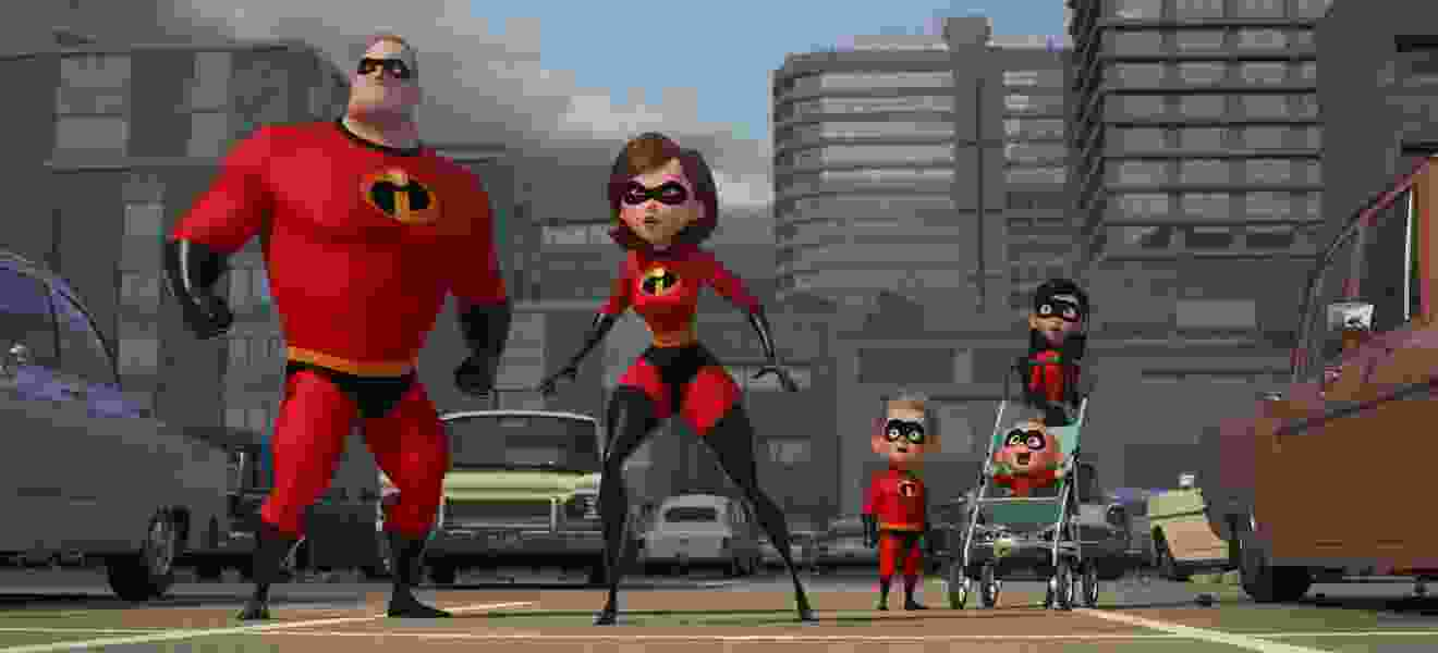 Review: 'Incredibles 2' is a four-star spectacle, as Pixar's superhero family shines again